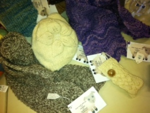 Woollen gifts from Clitheroe Country Market