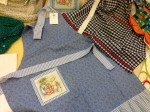 Textiles on display at Clitheroe Country Market