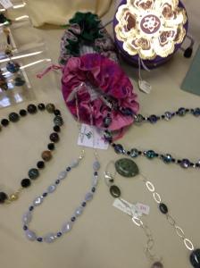 Jewellery made with semi precious stones