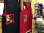 Hand made aprons from Clitheroe Country Market
