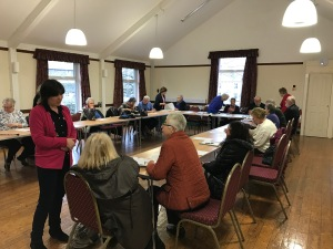 Clitheroe Country Market AGM meeting at Pendleton Village Hall