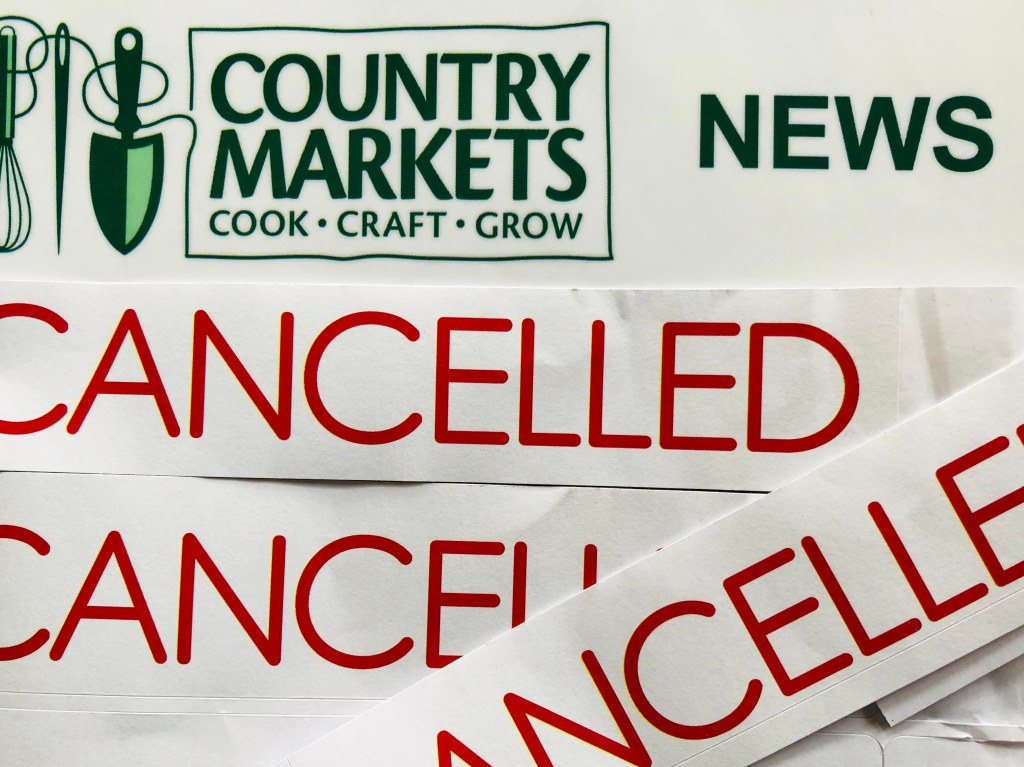 Clitheroe Country Market temporary closure